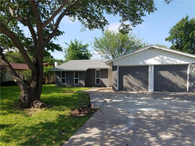 357 Hawthorne Lane, Grand Prairie, TX 75052 (MLS #14134743) :: Lynn Wilson with Keller Williams DFW/Southlake