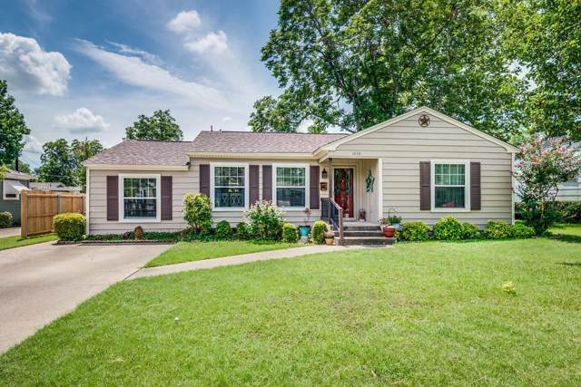 1636 Murray Drive, Garland, TX 75042 (MLS #14134756) :: The Mitchell Group