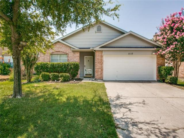 1117 Beechwood Drive, Denton, TX 76210 (MLS #14134850) :: RE/MAX Town & Country