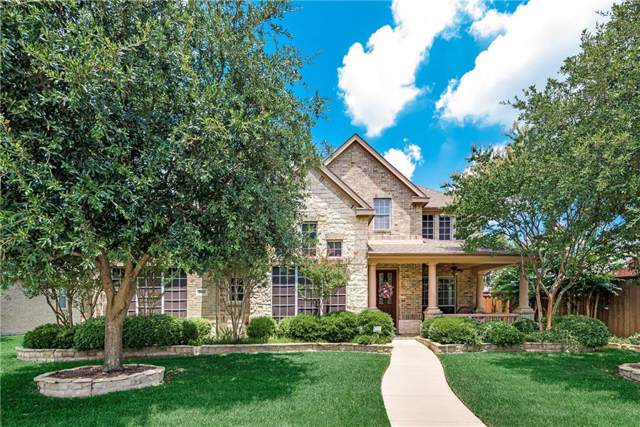 2488 Greenwood Drive, Frisco, TX 75036 (MLS #14134893) :: RE/MAX Town & Country