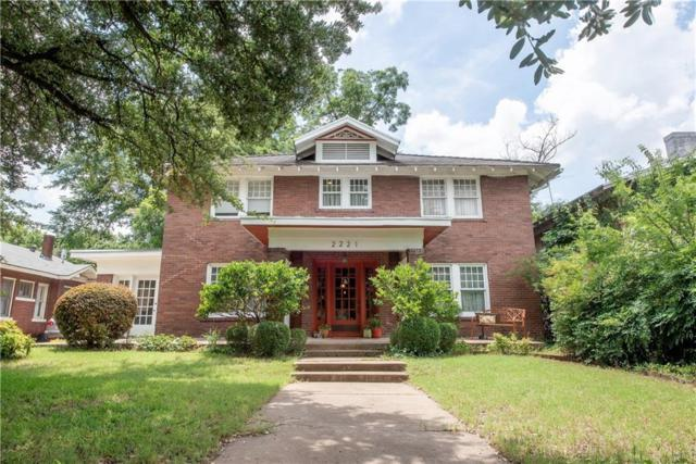 2221 Park Place Avenue, Fort Worth, TX 76110 (MLS #14134980) :: RE/MAX Town & Country