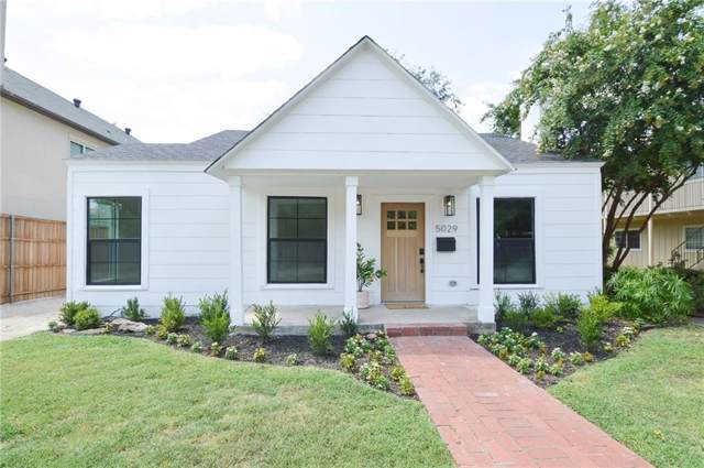 5029 Byers Avenue, Fort Worth, TX 76107 (MLS #14134981) :: Robbins Real Estate Group