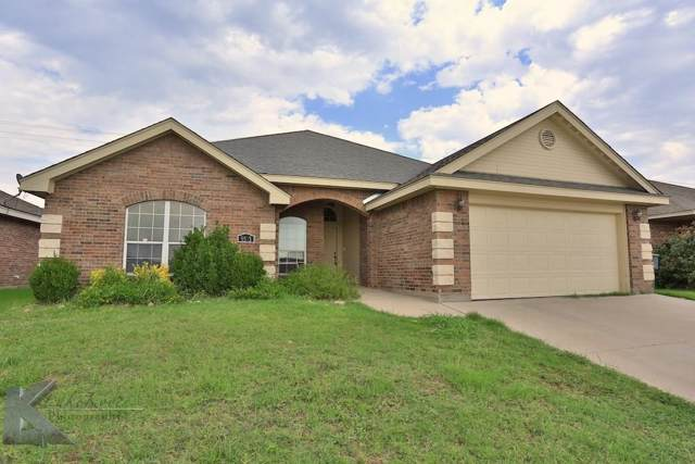 5533 Yellow Brick Road, Abilene, TX 79602 (MLS #14135039) :: The Chad Smith Team