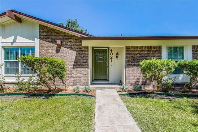 4021 Morgan Drive, Mesquite, TX 75150 (MLS #14135166) :: The Real Estate Station
