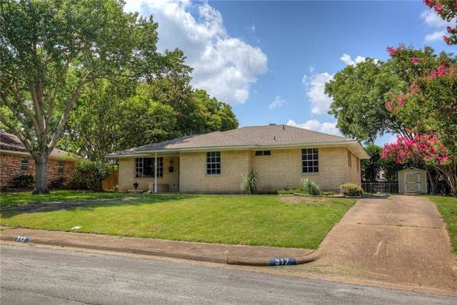 317 Willow Wood Lane, Desoto, TX 75115 (MLS #14135181) :: The Real Estate Station