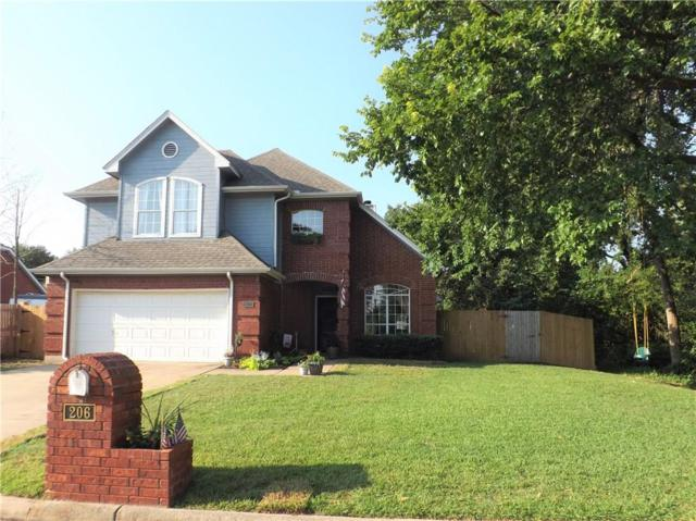 206 Hillside Drive, Kennedale, TX 76060 (MLS #14135291) :: The Rhodes Team