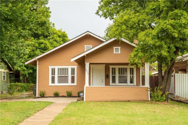 3016 College Avenue, Fort Worth, TX 76110 (MLS #14135295) :: RE/MAX Town & Country