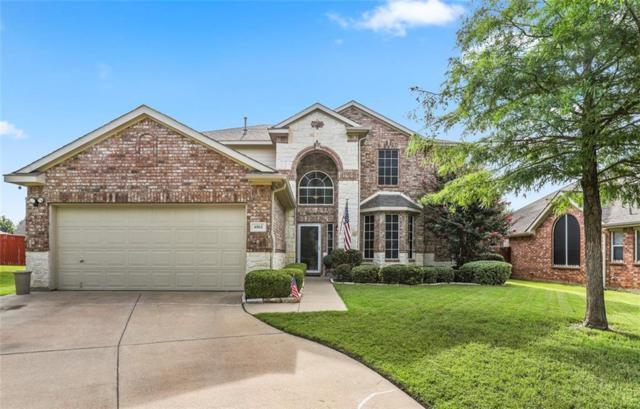 4865 Grinstein Drive, Fort Worth, TX 76244 (MLS #14135445) :: Real Estate By Design
