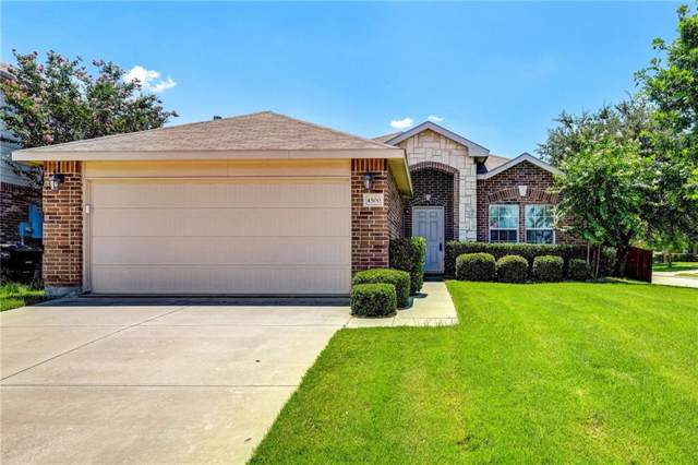 4500 Lacebark Lane, Fort Worth, TX 76244 (MLS #14135526) :: Frankie Arthur Real Estate