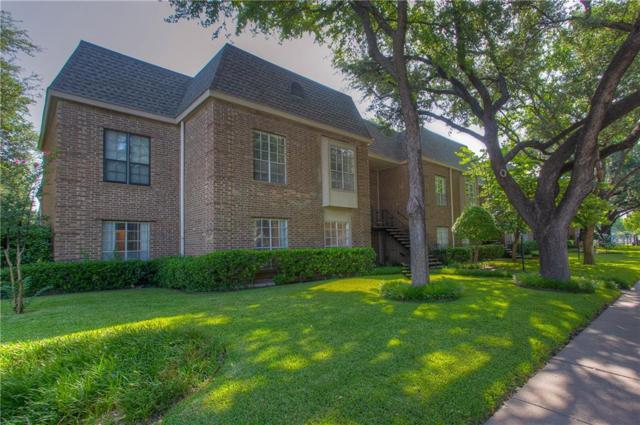 4426 Harlanwood Drive #104, Fort Worth, TX 76109 (MLS #14135594) :: RE/MAX Town & Country