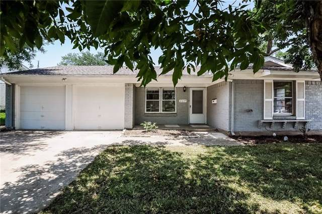 2609 Ridgewood Street, Irving, TX 75062 (MLS #14135618) :: Hargrove Realty Group