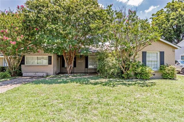 3817 Carolyn Road, Fort Worth, TX 76109 (MLS #14135640) :: Century 21 Judge Fite Company