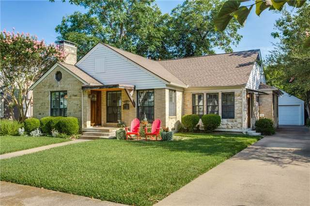 6019 Winton Street, Dallas, TX 75206 (MLS #14135682) :: Kimberly Davis & Associates