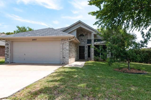 2097 Bronco Lane, Keller, TX 76248 (MLS #14135726) :: RE/MAX Town & Country