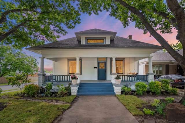 1830 Hurley Avenue, Fort Worth, TX 76110 (MLS #14135744) :: RE/MAX Town & Country
