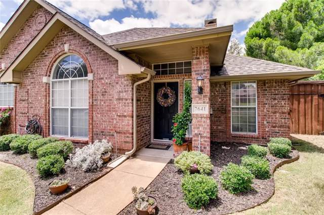 7641 Lancelot Road, Frisco, TX 75035 (MLS #14136020) :: RE/MAX Town & Country