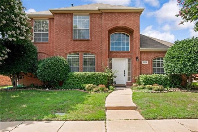 4606 Spanishmoss Drive, Mckinney, TX 75070 (MLS #14136041) :: Kimberly Davis & Associates