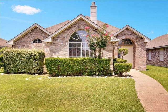2109 Birch Bend, Mesquite, TX 75181 (MLS #14136125) :: Lynn Wilson with Keller Williams DFW/Southlake