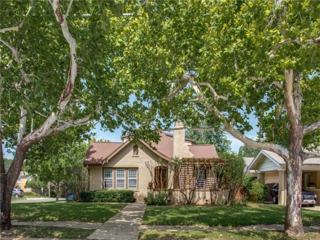 1908 Forest Park Boulevard, Fort Worth, TX 76110 (MLS #14136148) :: RE/MAX Town & Country