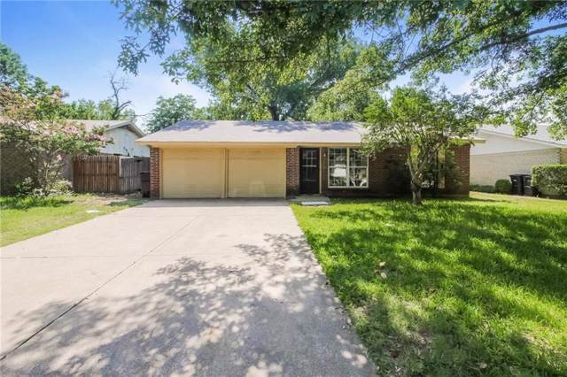 1617 Barron Lane, Fort Worth, TX 76112 (MLS #14136188) :: Hargrove Realty Group
