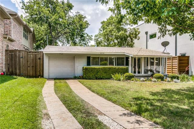 4238 Merrell Road, Dallas, TX 75229 (MLS #14136216) :: RE/MAX Town & Country