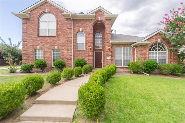 1317 Canterbury Drive, Allen, TX 75013 (MLS #14136223) :: Lynn Wilson with Keller Williams DFW/Southlake