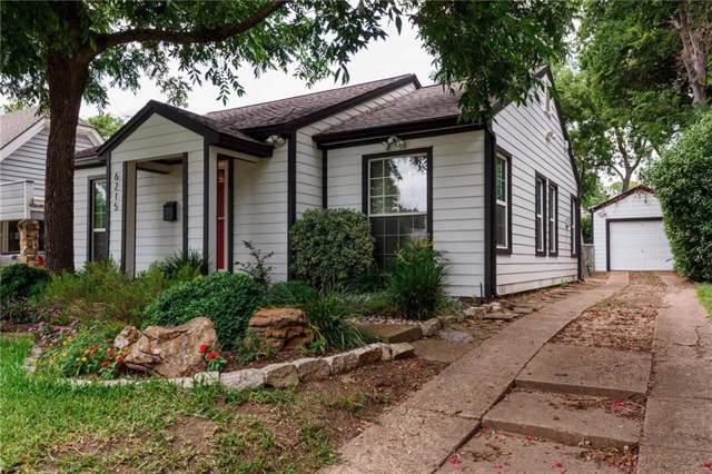 6215 Llano Avenue, Dallas, TX 75214 (MLS #14136233) :: RE/MAX Town & Country