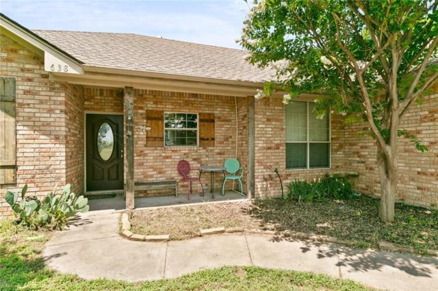 638 Olive Branch Road, Brock, TX 76087 (MLS #14136291) :: RE/MAX Town & Country