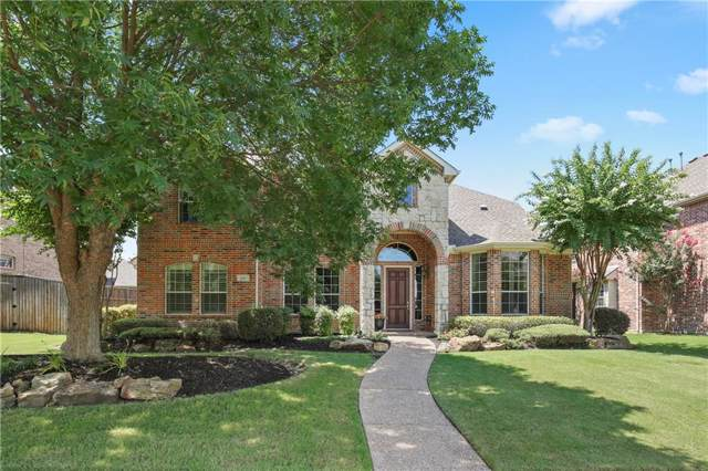 3581 Shell Ridge Drive, Frisco, TX 75033 (MLS #14136301) :: RE/MAX Town & Country