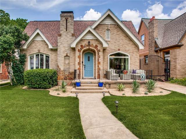 1042 N Edgefield Avenue, Dallas, TX 75208 (MLS #14136319) :: Lynn Wilson with Keller Williams DFW/Southlake