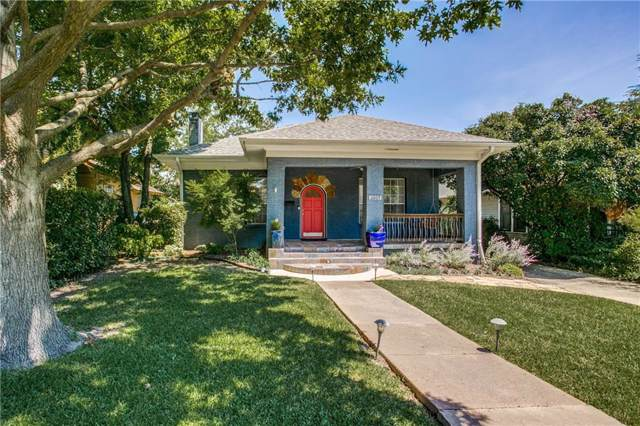 6009 Palo Pinto Avenue, Dallas, TX 75206 (MLS #14136356) :: Baldree Home Team
