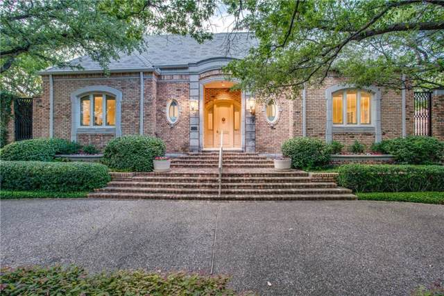 7711 Caruth Boulevard, Dallas, TX 75225 (MLS #14136420) :: Vibrant Real Estate