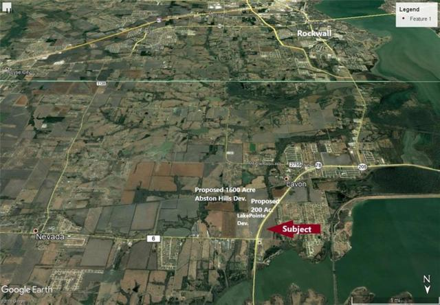 000 State Highway 78 Highway, Lavon, TX 75166 (MLS #14136460) :: RE/MAX Town & Country