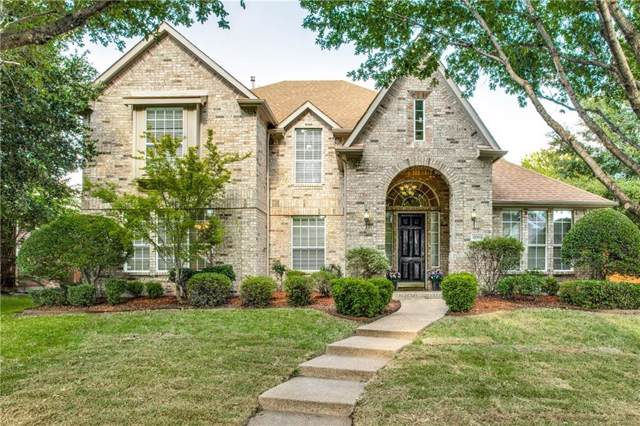 8008 Strecker Lane, Plano, TX 75025 (MLS #14136486) :: RE/MAX Town & Country