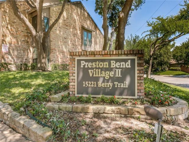 15221 Berry Trail #407, Dallas, TX 75248 (MLS #14136494) :: Team Hodnett