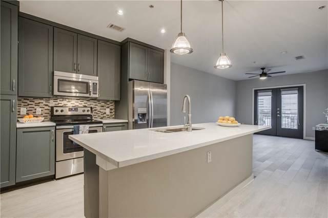 5609 Smu Boulevard #407, Dallas, TX 75206 (MLS #14136523) :: Van Poole Properties Group