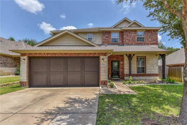 2513 Creek Villas Drive, Bedford, TX 76022 (MLS #14136663) :: Baldree Home Team