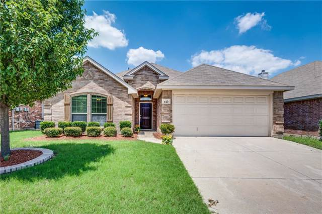 649 Minkel Drive, Crowley, TX 76036 (MLS #14136720) :: Lynn Wilson with Keller Williams DFW/Southlake