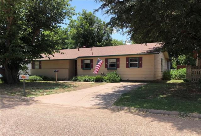 512 Dodson Drive, Stamford, TX 79553 (MLS #14136723) :: The Real Estate Station