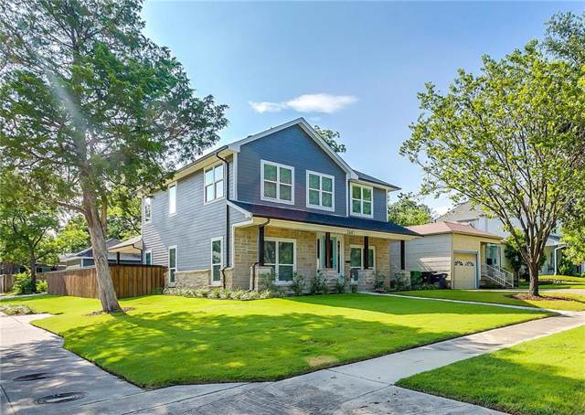 2601 Ryan Avenue, Fort Worth, TX 76110 (MLS #14136737) :: RE/MAX Town & Country