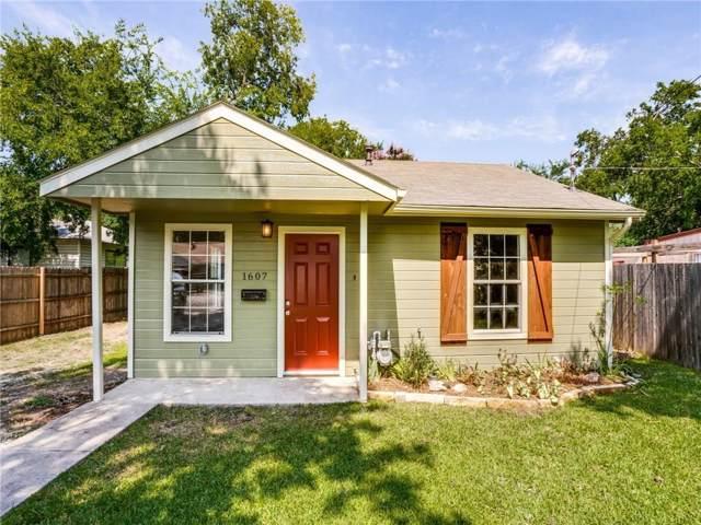1607 Nelson Street, Mckinney, TX 75069 (MLS #14136924) :: Lynn Wilson with Keller Williams DFW/Southlake