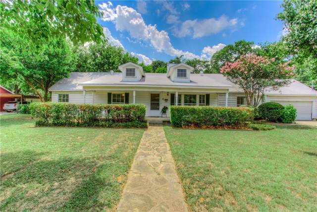 509 Hassett Avenue, River Oaks, TX 76114 (MLS #14136963) :: RE/MAX Town & Country