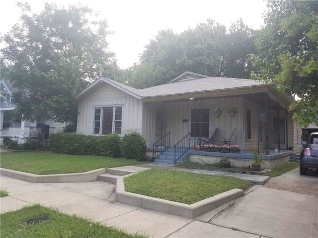 1417 S Henderson Street, Fort Worth, TX 76104 (MLS #14137051) :: RE/MAX Town & Country