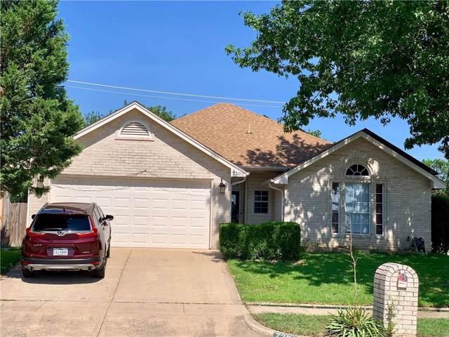 7300 Amber Drive, Watauga, TX 76148 (MLS #14137098) :: RE/MAX Town & Country