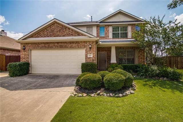 417 Bluefinch Drive, Little Elm, TX 75068 (MLS #14137194) :: Lynn Wilson with Keller Williams DFW/Southlake