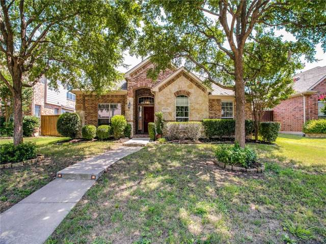 15843 Waterview Drive, Frisco, TX 75035 (MLS #14137266) :: RE/MAX Town & Country