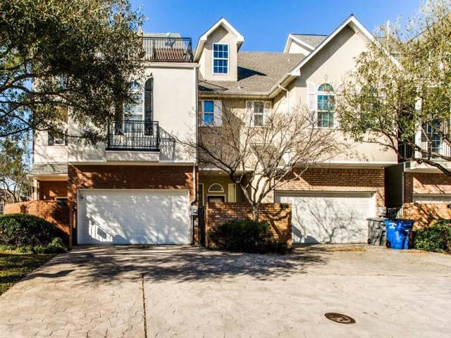 5701 Lewis Street, Dallas, TX 75206 (MLS #14137279) :: The Heyl Group at Keller Williams
