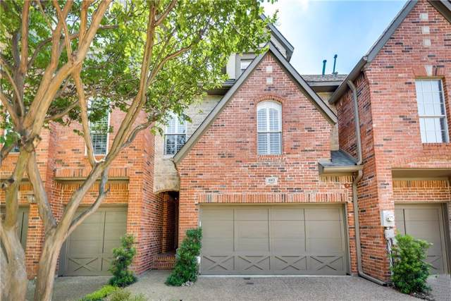4165 Towne Green Circle, Addison, TX 75001 (MLS #14137343) :: Vibrant Real Estate
