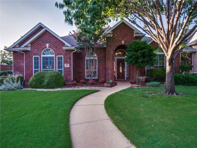 905 Heatherglen Court, Highland Village, TX 75077 (MLS #14137347) :: Lynn Wilson with Keller Williams DFW/Southlake