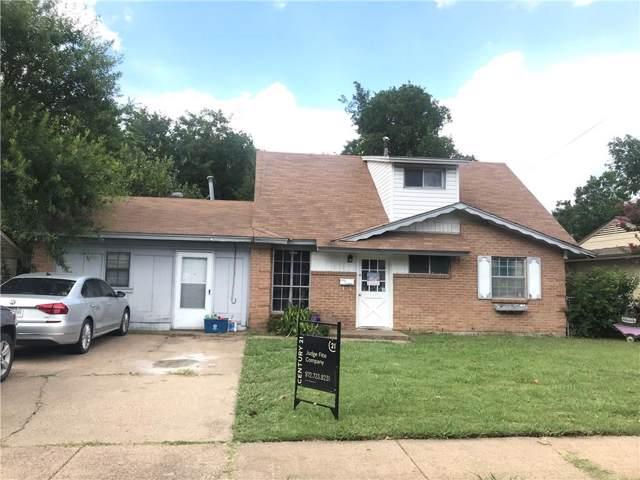 635 Thrush, Duncanville, TX 75116 (MLS #14137390) :: Roberts Real Estate Group